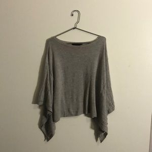 BCBG MAXAZRIA grey sweater